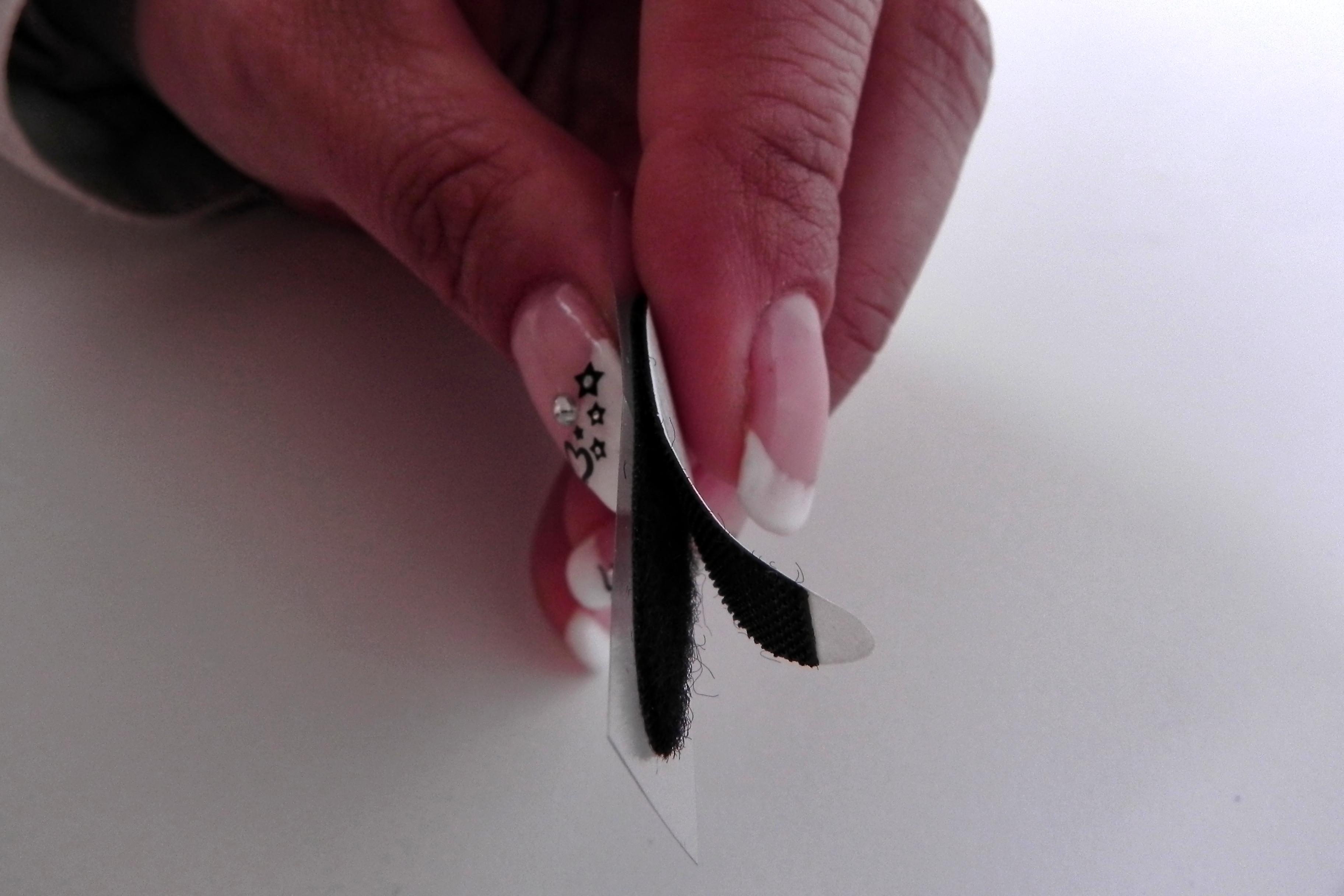 klettband punkte selbstklebend schwarz f r ordner geschenkverpackung jetzt g nstig kaufen. Black Bedroom Furniture Sets. Home Design Ideas