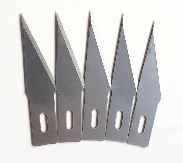 Ersatzklingen für Grafikmesser, extra scharf für filigrane Schneidearbeiten