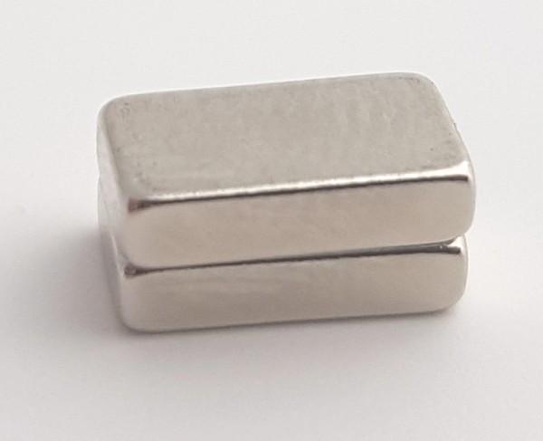 Neodym Magnet klein 10x5x2,5mm