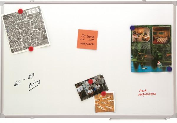 Whiteboard Tafel 150x100 cm für die Wandmontage