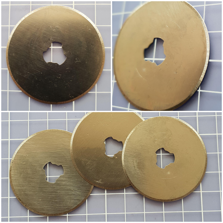 1 Stück 45mm Rollschneider Ersatzklingen Rollenschneider Quilting Klingen