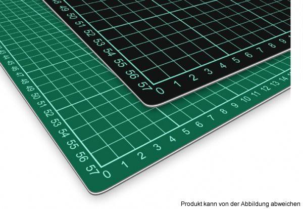 schneidematte grün/schwarz selbstheilend