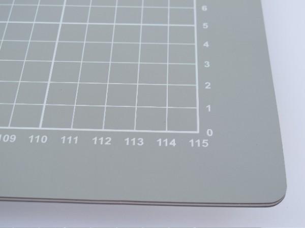 graue selbstheilende Schneidematte 90 x 60cm