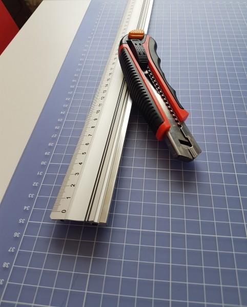 Aluminium Lineal 150 cm
