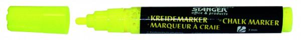 Tafelfolie Marker gelb,