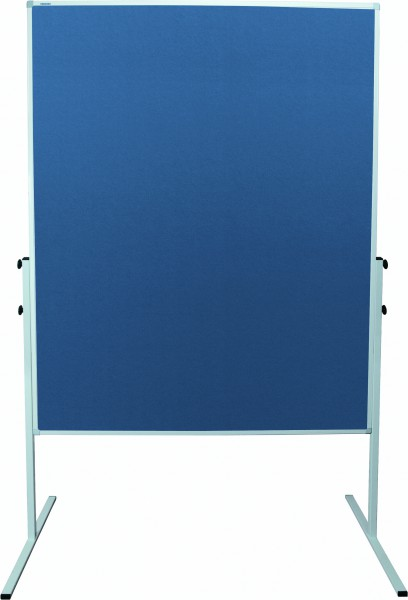 Moderationstafel X-tra! Line, 120 x 150 cm, blau/Filz, blau/Filz