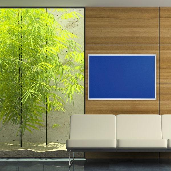 Filztafel blau 120x90 cm