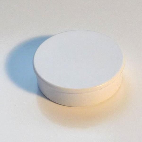 Organisationsmagnet mit Neodym, 36mm, weiß