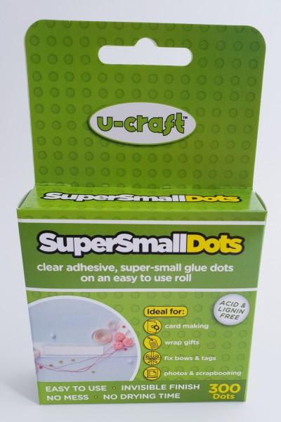 Klebepunkte doppelseitig Rolle - SuperSmallDots 3mm