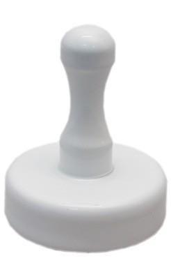 Griffmagnet mit Ferritkern, weiß