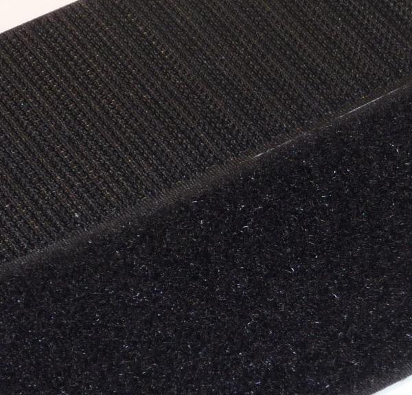 selbstklebendes klettband schwarz 50mm haken und flausch 25 meter rolle 4260260124175 ebay. Black Bedroom Furniture Sets. Home Design Ideas