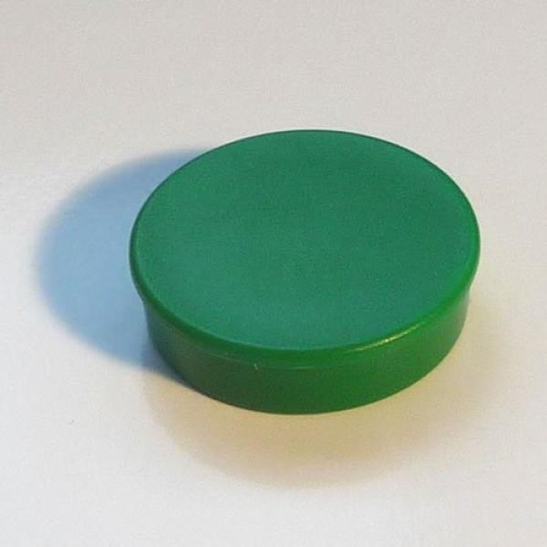Organisationsmagnet mit Neodym, 25mm, grün