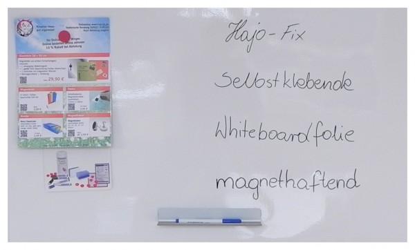 Ferrofolie/Eisenfolie mit Whiteboarfolie beschichtet-Haftgründe für Magnete, beschriftbar