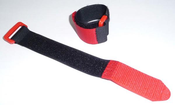 Klett-Kabelbinder mit Kunststoff Öse