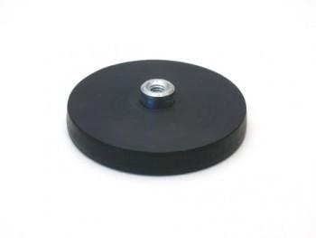 gummiertes Magnetsystem mit Gewindebuchse