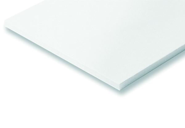 weiße Leichtschaumplatte 3mm