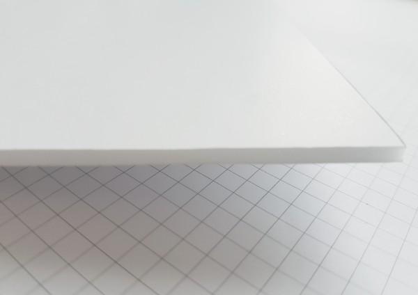 Leichtschaumplatten 10mm weiß