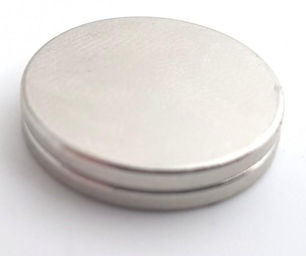 Neodym Magnet Scheibe 20mm stark haftend