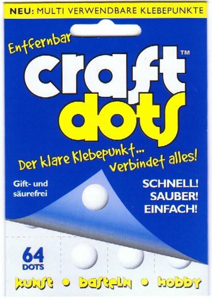 CraftDots-doppelseitige Silikonpunkte