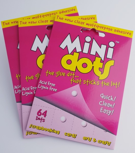 MiniDots, doppelseitige Klebepunkte 5mm