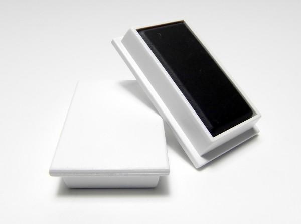 Organisationsmagnete 37mm x 22mm, rechteckig, weiß