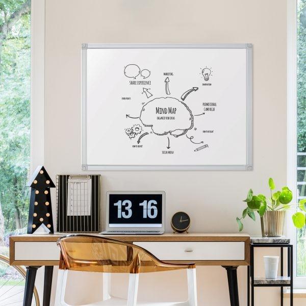 Whiteboard Tafel lackiert