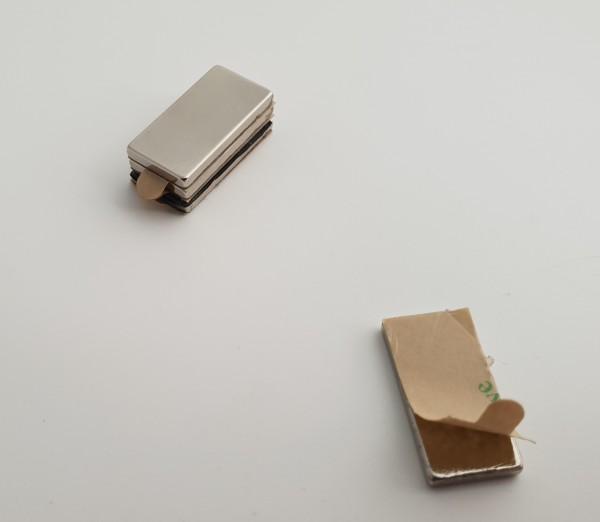 selbstklebende Neodym Magnete Quader N45