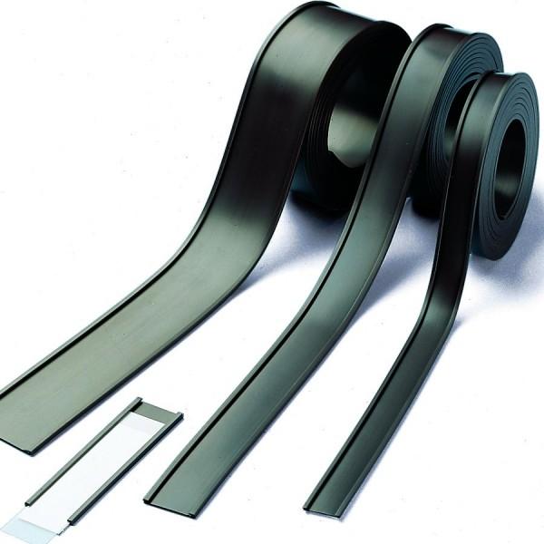 magnetisches C-Profil, leicht zuschneidbar, magnetische Beschriftungsleiste